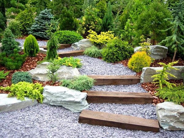 Garten Steine